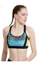 FIT&THECITYW SPORTS BRA - MEDIUM HOLD# 80% PES 20%