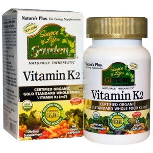 Source of life garden vitamin k2 120mcg 60caps