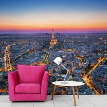 Paris sunset a
