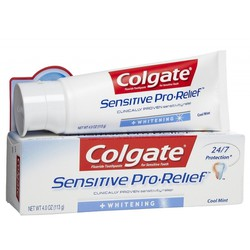 Colgate Sensitive Pro Relief Whitening Οδοντόκρεμα 75ml