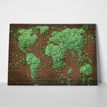 Leaves world map 2 125752292 a