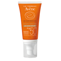 Avene Eau Thermale Solaire Anti Age Dry Touch SPF50+ Αντηλιακή Αντιγηραντική Κρέμα Προσώπου 50ml