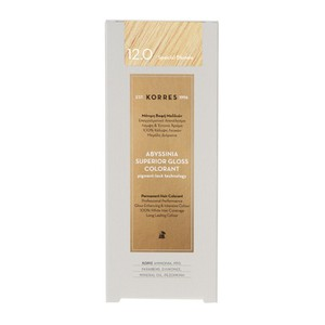 KORRES Βαφή abyssinia superior gloss colorant 12.0 special blonde