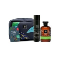 Apivita PROMO PACK  Its a A Man's World Νεσεσέρ με After Shave Balsam 100ml και Αφρόλουτρο 300ml.