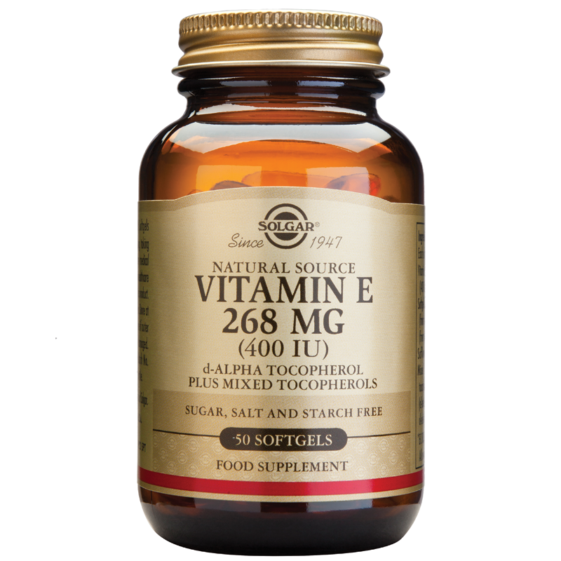 Vitamin E Natural 400IU softgels