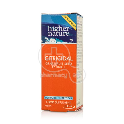 HIGHER NATURE - Citricidal Drops - 100ml