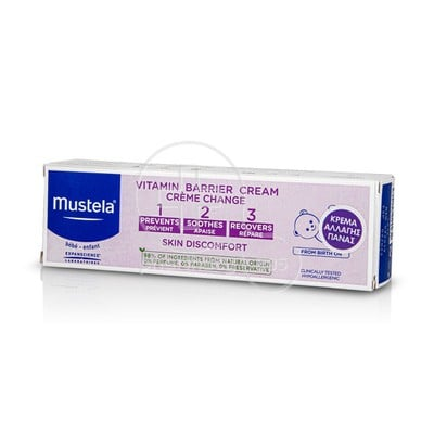 MUSTELA - Vitamin Barrier Cream - 100ml