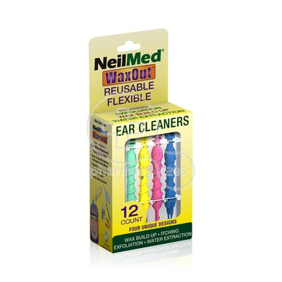 NEILMED - WaxOut Ear Cleaners - 12τεμ.