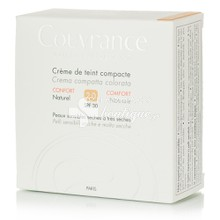 Avene Compact Confort NATUREL (2.0) - Make-up Ξηρό - Πολύ Ξηρό δέρμα, 10gr