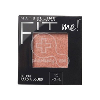 MAYBELLINE - FIT ME Blush No15 Nude - 5gr