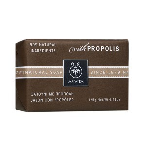 Apivita natural soap with propoleo