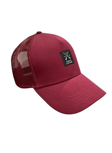 VINYL ART CLOTHING BORDEAUX CAP VINYL SUEDE
