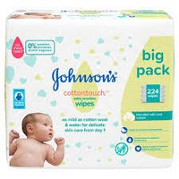 JOHNSON COTTON TOUCH WIPES (2+2 x1=56TMX)