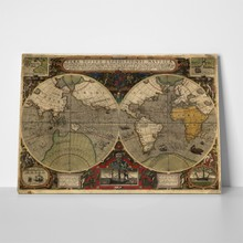 Ancient world map 46648885 a