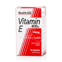 HEALTH AID - Vitamin E 400iu - 30caps