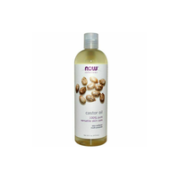 NOW CASTOR OIL 100% PURE 473ML