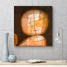 Paul klee   bust of a child