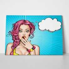 Surprised woman pop art 3 481780636 a