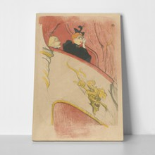 Toulouse lautrec box with gilded mask 751010662 a