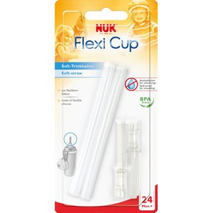Nuk 10255130 flexi cup soft replacement straw bpa free nuk malaysia 1