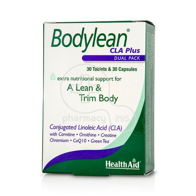 HEALTH AID - Bodylean CLA Plus - 30caps & 30tabs