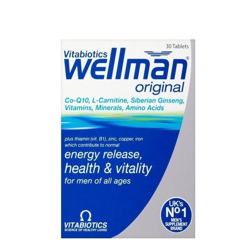 Vitabiotics | Wellman Original 30 Capsules