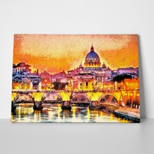 Colorful illuminated san peter basilica rome 406636354 a