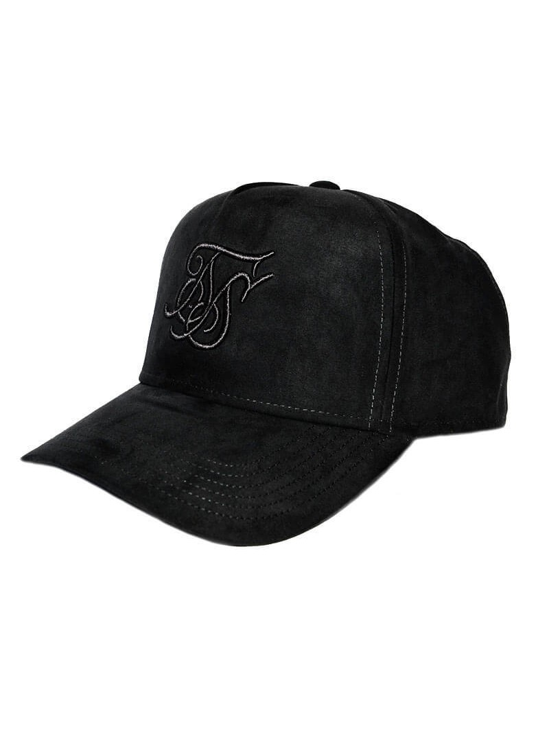 SikSilk  Suede Trucker - Dark Grey
