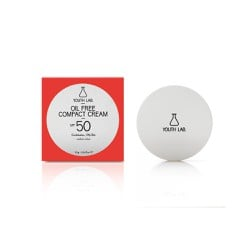 YOUTH LAB. Oil Free Compact Cream SPF50 Medium Αντηλιακή Κρέμα Σε Μορφή Compact Make-Up 10gr