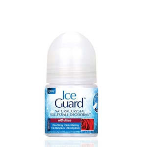 Ice guard crystal deo roll on with rose 50ml enlarge