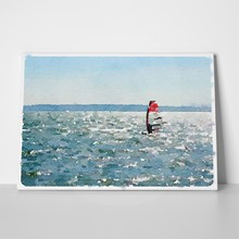 Watercolor windsurfing 3 611228882 a