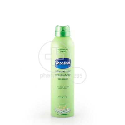 VASELINE - INTENSIVE CARE Aloe Soothe Spray Moisturiser - 190ml