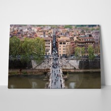 Tilt shift bridge 105471671 a