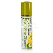 Dr.Organic Virgin Olive Oil LIP BALM με Spf 15 - Ενυδάτωση, 5.7ml