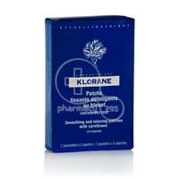 KLORANE - BLEUET Patchs Lissants Defatigants - 7sachx2patch
