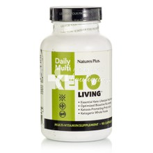 Natures Plus Keto Living Daily Multi - Πολυβιταμίνη, 90caps