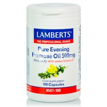 Lamberts Pure Evening Primrose Oil 500mg, 180caps