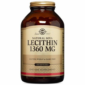 Solgar lecithin 1360mg 250t