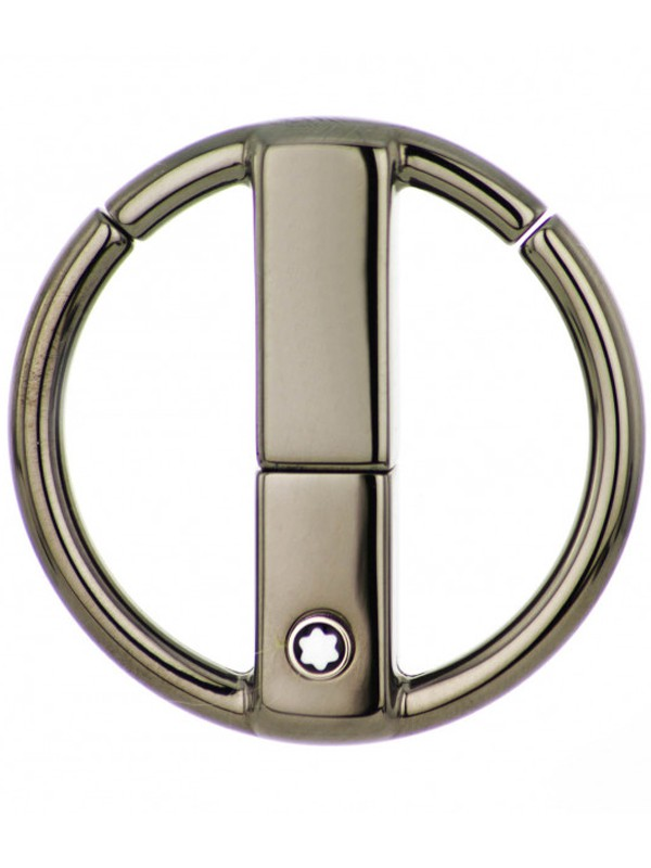 4810 Westside Metal Round Key Chain