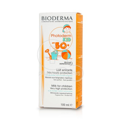 BIODERMA - PHOTODERM KID Lait SPF50+ (100ml)