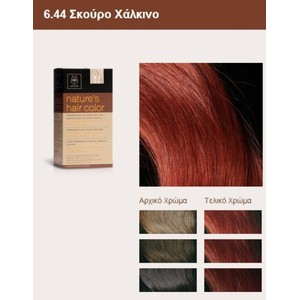 Apivita nature s hair color 6.44