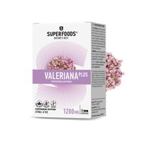 SUPERFOODS VALERIANA PLUS 1200MG 50CAPS