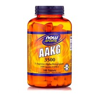NOW SPORTS AAKG 3500MG 180TABL