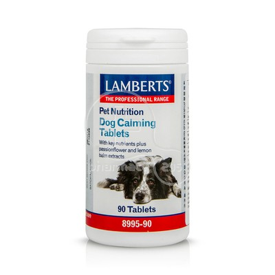 LAMBERTS - PET NUTRITION Dog Calming Tablets - 90tabs