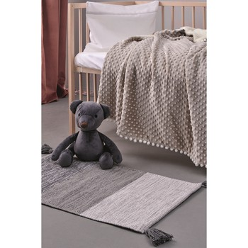 Χαλάκι Παιδικό (50x80) Kids Decor Bloom Grey Palamaiki