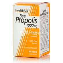 Health Aid Bee PROPOLIS 1000mg - Κρυολόγημα, 60tabs