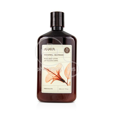 AHAVA - MINERAL BOTANIC Velvet Body Lotion Hibiscus & Fig - 500ml