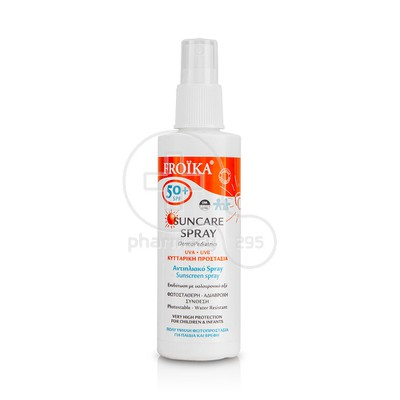 FROIKA - Suncare Spray Childrens & Infants SPF50+ - 125ml