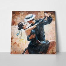 Tango dancers painting 253873501 a