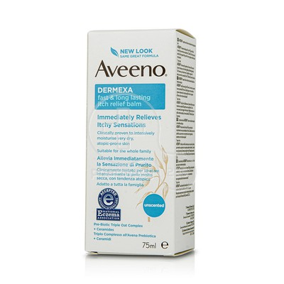 AVEENO - DERMEXA Fast & Long Lasting Itch Relief Balm - 75ml